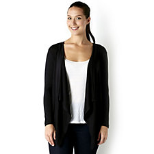 Attitudes by Renee Long Sleeve Cascade Layering Jacket