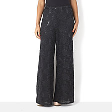 Antthony Designs Lace Palazzo Trouser