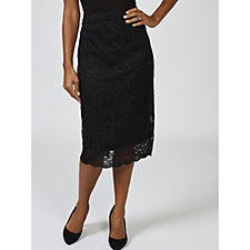 Ruth Langsford Lace Pencil Skirt