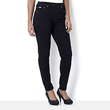 Diane Gilman Superstretch Flat Waisted Skinny Jeggings
