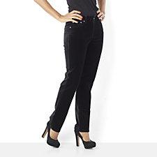 Diane Gilman Stretch Velvet Skinny Jean