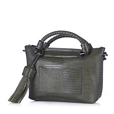 Danielle Nicole Bailey Mini Satchel Bag with Crossbody Strap