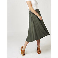 Join Clothes Jersey Midi Skirt with Pockets