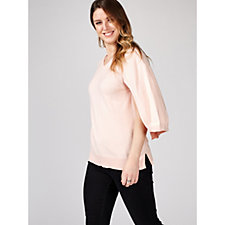 H by Halston Marl Jumper Cape