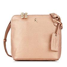 171123 - Ashwood Mini Leather Double Zip Crossbody Bag