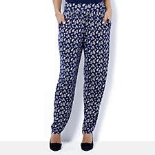 Kim & Co Brushed Venechia Wellness Trousers with Pockets
