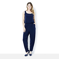 Kim & Co Brazil Knit Wellness Jumpsuit