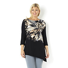 145225 - Dolman Sleeve Placement Print Top by Susan Graver
