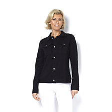 Women with Control Button Front Jacket