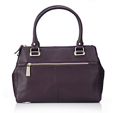 Tignanello Soft Pebble Leather Shoulder Bag with RFID Protection