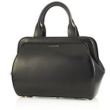 157826 - Lulu Guinness Paula Mid Polished Leather Handbag