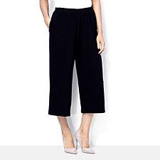 Yong Kim Stretch Jersey Cropped Culottes