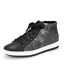 Rieker Trainer with Patchwork Detail