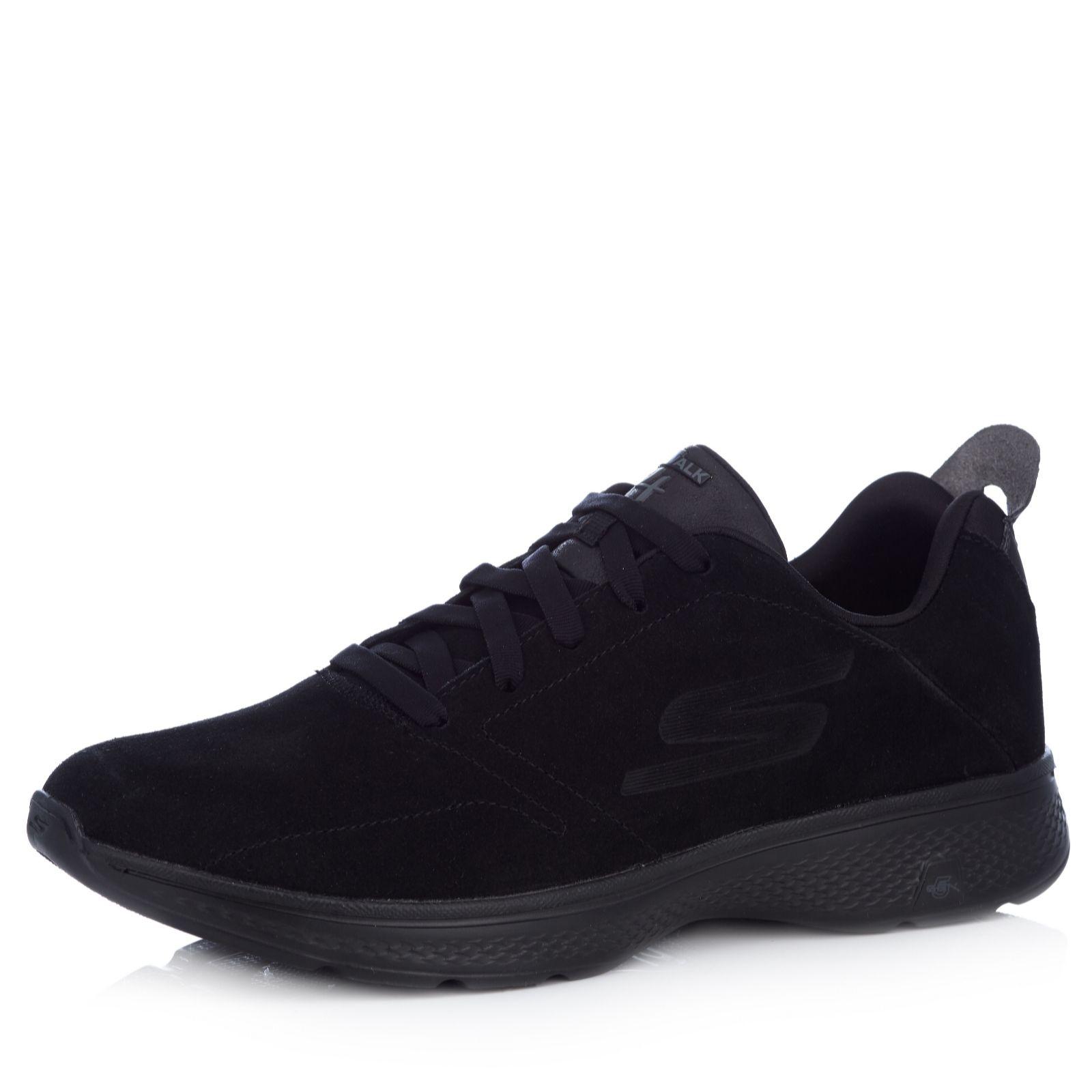 Skechers GOwalk 4 Acclaim Men's Suede Lace Up Shoe - 167926
