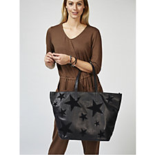 Amanda Lamb Large Leather Star Holdall