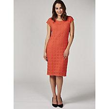 172826 - Ronni Nicole Cap Sleeve Lace Dress