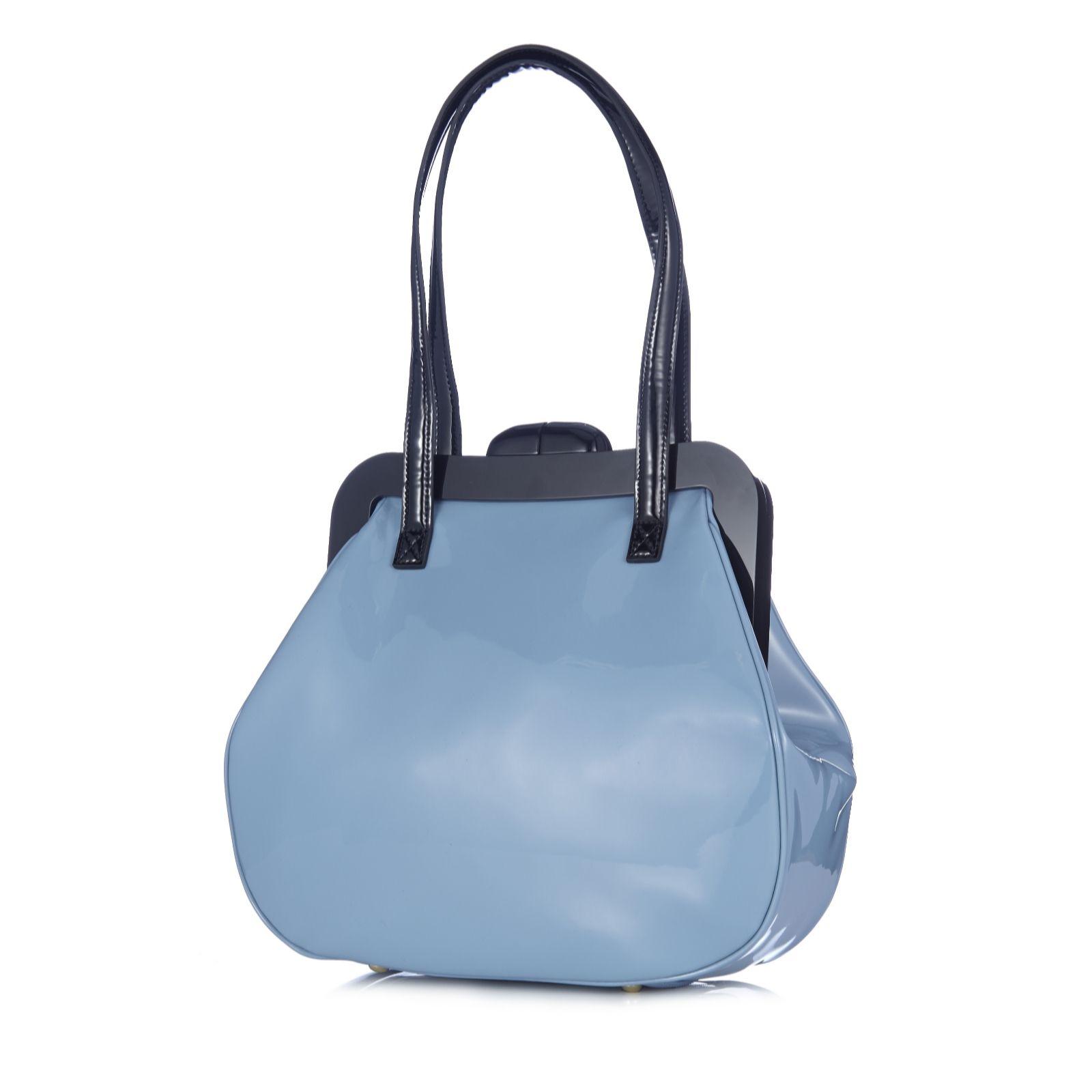 f6e4169f16 Lulu Guinness Mid Pollyanna Patent Leather Bag