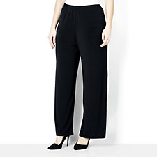 157627 - Jersey Knit Pull-On Trousers by Michele Hope
