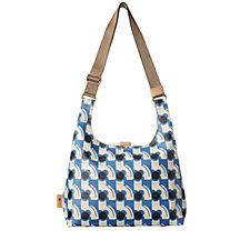 Orla Kiely Poppy Cat Midi Sling Bag