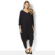 Join Clothes Jersey Tunic with Draped Sides