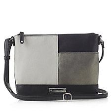 Tignanello Mondrain Pop Pebble Texture Crossbody Bag