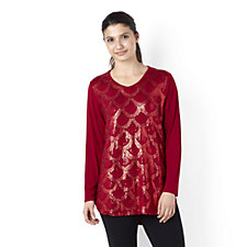 Antthony Designs Sequin Embellished Top