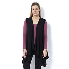 Join Clothes Edge to Edge Waterfall Front Waistcoat
