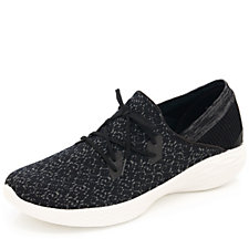 Skechers YOU Exhale Sparkle Knit Slip On Trainer