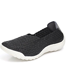 Adesso Caitlin Stretch Weave Slip On Shoe