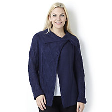 Casual & Co Cable Front Detail Cardigan