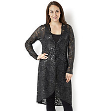 Antthony Designs Lace Duster Cardigan