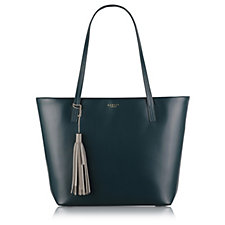 Radley London De Beauvoir Large Leather Zip Top Tote Bag