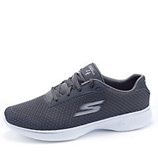 Skechers GOwalk 4 Glorify Two Toned Mesh Lace Up Trainer