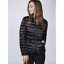 Rino & Pelle Faux Pearl Detail Padded Jacket