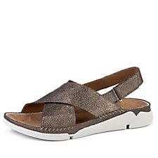 Clarks Tri Alexia Crossover Strap Sandal