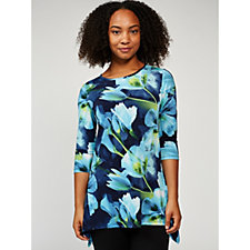 Mr Max Large Floral Tunic Top