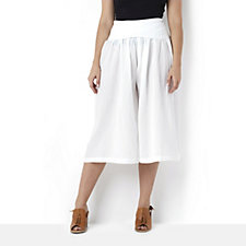 Join Clothing Cotton Pull On Crop Trousers