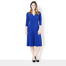 Ronni Nicole 'O So Slim' Jersey Wrap Dress