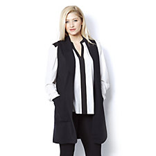 Chelsea Muse by Christopher Fink Contrast Button Detail Waistcoat