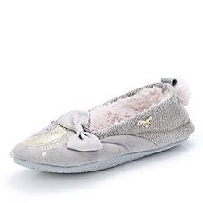 Pretty You London Perdita Ballerina Slippers