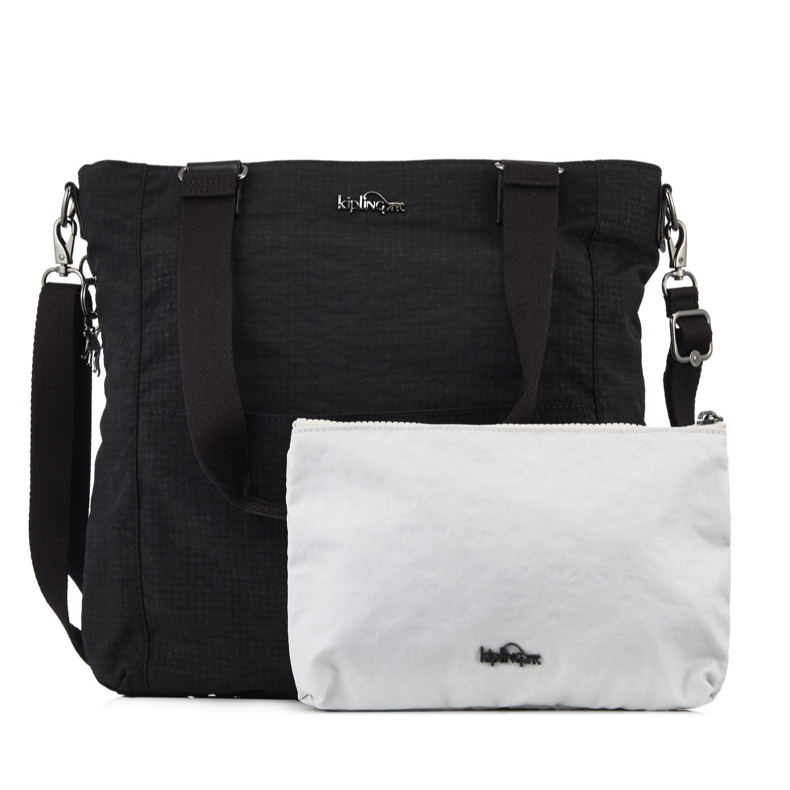 Kipling Marie Francoise Premium Ortoli Large Shoulder Bag Detachable Pouch 161830