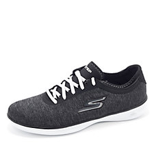 Skechers GO STEP Lite Heathered Mesh Lace Trainer