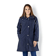 Centigrade Zip Front Drawstring Waist Jacket