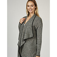 Rino & Pelle Knitted Drape Cardi Coat
