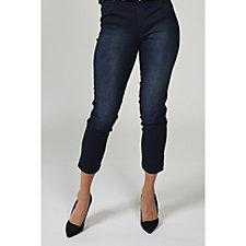 Kim & Co Power Stretch Pull On Slim Leg Regular Jeans