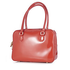 109031 - Lulu Guinness Patent Leather Large Jenny Bag