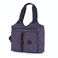 Kipling Armide Large Double Handled Shoulder Bag with Front Zip Pockets