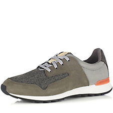 Clarks Floura Mix Lace Up Trainer