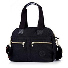 Kipling Onne Premium Embossed Shoulder Bag with Detachable Strap
