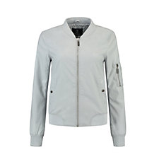 Rino & Pelle Faux Leather Bomber Jacket